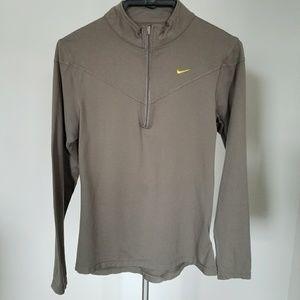 Nike Dri-Fit Long Sleeve half zip Shirt